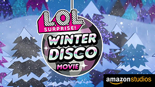 LOL Surprise! Winter Disco Feature Film